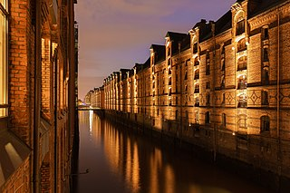 Speicherstadt Part of Hamburg