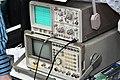 Hameg HM203-6 and HP 8920A oscilloscopes.jpg