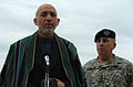 Hamid Karzai with John Abizaid at MacDill Air Force Base-2.jpg
