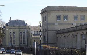 A308 road - Image: Hampton Water Works buildings