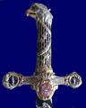 Handle of the Ceremonial sword of Stanisław Augustus Poniatowski.PNG
