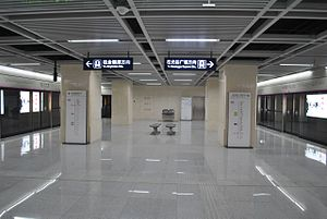 Hankou Railway Station - Platform