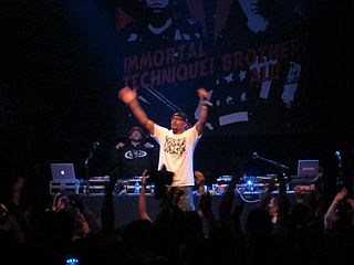 Hasan Salaam American rapper