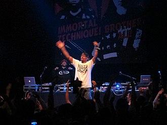 Hasan Salaam - Salaam performing in 2013