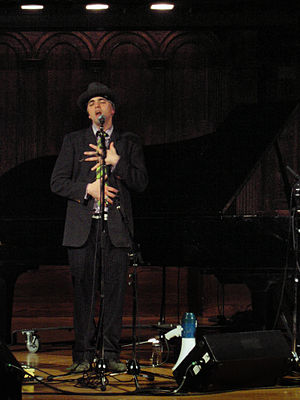 Victoria Conservatory of Music - Canadian rock singer Hawksley Workman performing at the Victoria Conservatory of Music in 2006