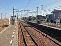 Hayatsuki-kazumi-station platform 2018.jpg