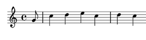 Symphony No. 30 (Haydn) - The Alleluia theme of the first movement