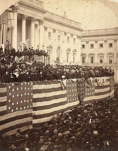 Inauguration of Rutherford B. Hayes, March 5, 1877.