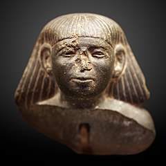Head of a man-E 10757