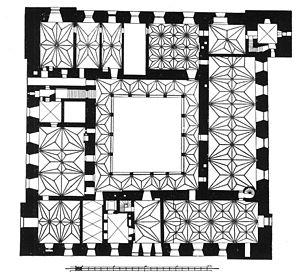 Lidzbark Warmiński -  Castle floor plan
