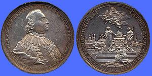 Heinrich von Bibra - Medallion of Heinrich von Bibra