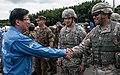 Heita Kawakatsu and soldiers 20160904 3.jpg