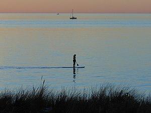 Henley Beach, South Australia - Dusk at Henley Beach South