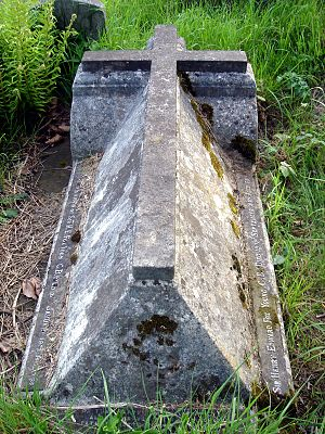 Henry Young - Funerary monument, Brompton Cemetery, London