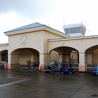 Henry E. Rohlsen Airport - Image: Henry E. Rohlsen Airport (Tower)