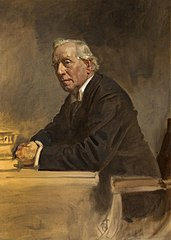 Henry Herbert Asquith, 1st Earl of Oxford and Asquith, 1852 - 1928. Statesman