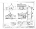 Herbert Hoover Birthplace House, Southwest corner of Penn and Downey Streets (moved), West Branch, Cedar County, IA HABS IOWA,16-WEBRA,1- (sheet 4 of 4).png