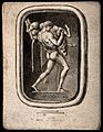 Hercules. Etching by T. Worlidge (?). Wellcome V0035862.jpg