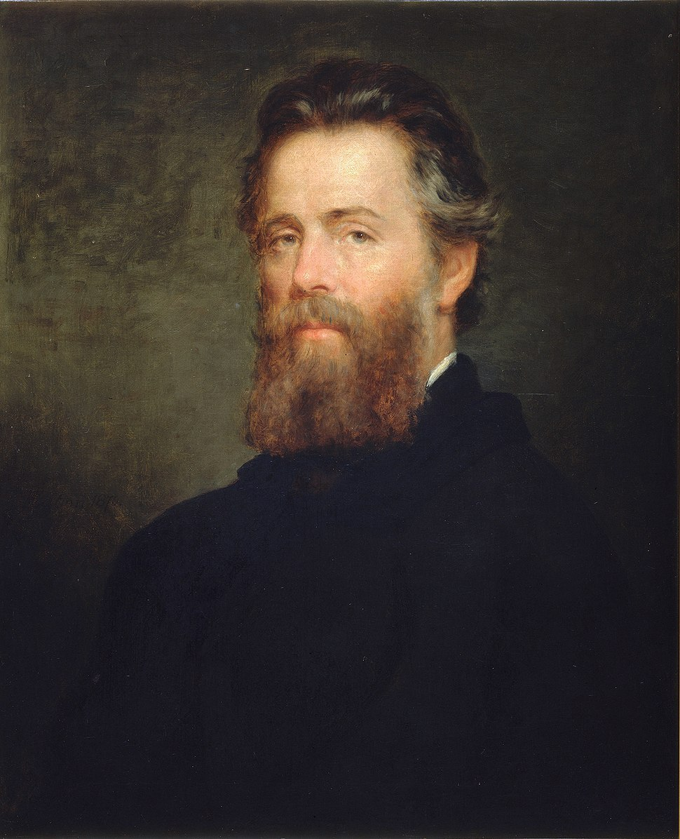 Herman Melville, 1870. Oil painting by Joseph Oriel Eaton.