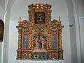Hermitage of La Virgen del Camino (Castrillo de Villavega) 003 altar piece.JPG