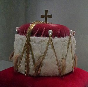 Ducal hat of Styria - Ducal hat of the Duchy of Styria is exhibited in the Museum im Palais in Graz.