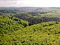 Herzstück des Biosphärengebiets der schwäbischen Alb, Der ehemalige Truppenübungsplatz Münsingen im sogenannten Münsinger Hardt, Ausblick vom Turm Hursch - panoramio (2).jpg