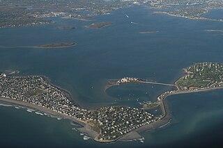 Hingham Bay bay in Massachusetts, United States of America