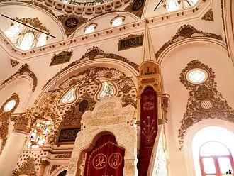 Hisar Mosque - Minbar of the Mosque