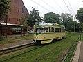 Historical tourist tram at Scheveningen, July 2017, img 2.jpg