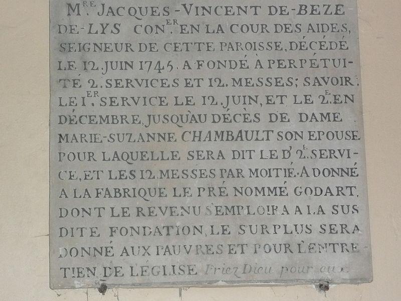 Historique de Bèze