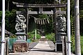 Hitsujisaki jinja (Mano) Gate.JPG