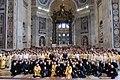 Hl. Messe in St. Peter Basilika in Vatikan.jpg
