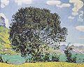 Hodler - Baum am Brienzersee vom Bödeli aus - 1906.jpg