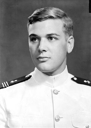 James L. Holloway III - Midshipman Holloway, 1941.