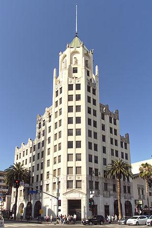 Meyer & Holler - Hollywood First National Bank Building