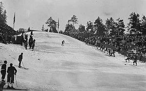 FIS Nordic World Ski Championships 1930 - Image: Holmenkollen 1930 jumping