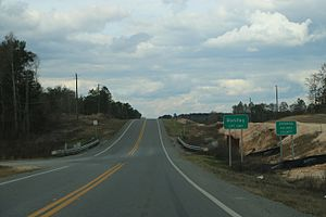 Holmes County, Florida - The Holmes County sign at Bonifay on SR79.