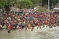 Holy Bath - Jivitputrika - Ramkrishnapur Ghat - Howrah - Hooghly River 2016-09-23 9555.JPG