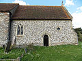 Holy Trinity Church Nuffield, Oxon, England - chancel south wall.jpg