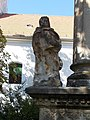 Holy Trinity column, Saint with book, 2019 Diszel.jpg