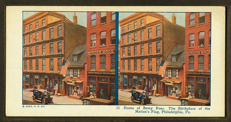 File:Home of Betsy Ross. The birthplace of Nation's Flag, Philadelphia, Pa, from Robert N. Dennis collection of stereoscopic views.jpg
