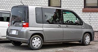 Honda Mobilio - Honda Mobilio rear
