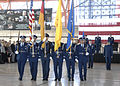 Honor Guard posts the colors during the change of command ceremony, Holloman Air Force Base.jpg