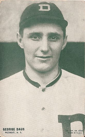 1915 Detroit Tigers season - Hooks Dauss