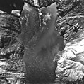 Hoonah and Johns Hopkins glaciers, terminus of tidewater glaciers, glacial flour and icebergs in the inlet, August 12, 1980 (GLACIERS 5958).jpg
