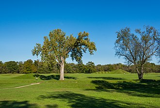 Hopewell Culture National Historical Park - Restored mounds in the Hopewell Culture NHP