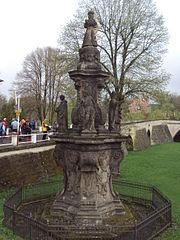 Maria column in Horní Police