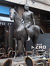Horse and Rider by Elisabeth Frink, Dover Street, Mayfair.JPG
