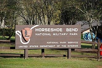 Horseshoe Bend National Military Park - Image: Horseshoe Bend National Military Park, Tallapoosa County, Alabama