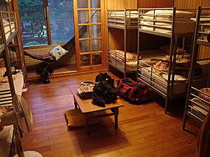 Formosa Backpackers Hostel dorm room in Taiwan...